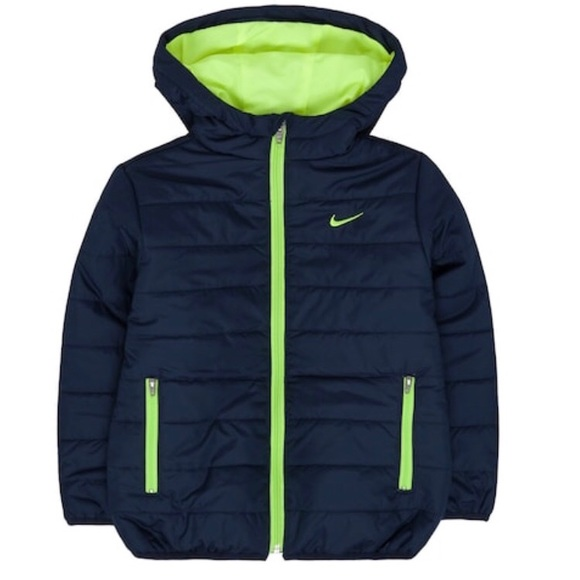 7213c026b87b Boys Nike Quilted Winter Jacket